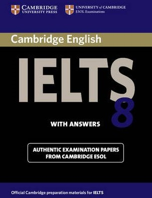 خرید کتاب cambridge english IELTS 8