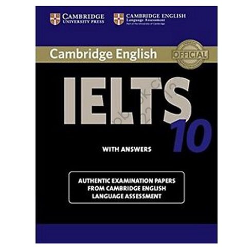 خرید کتاب cambridge english IELTS10